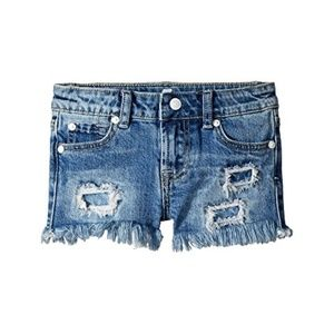 7-For-All-Mankind-Girls-Kids-Denim-Shorts SIZE 8